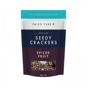 Paleo Pure - Keto Crackers Spiced Fruit