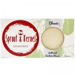 Sprout & Kernel - Classic Cashew Nut Cheese 120g