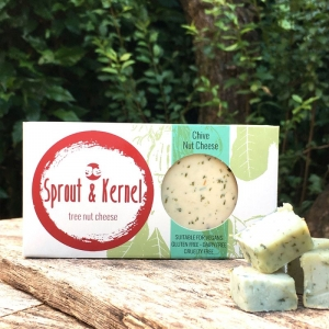 Sprout & Kernel - Chive Cashew Nut Cheese 120g