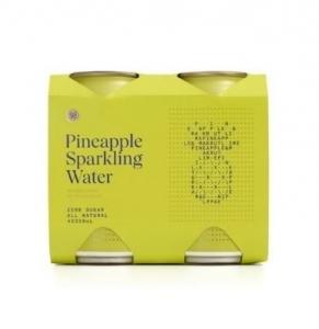 Strange Love - *NEW* Pineapple Sparkling Water 330ml CANS 6 x 4pk (24) (Carton)