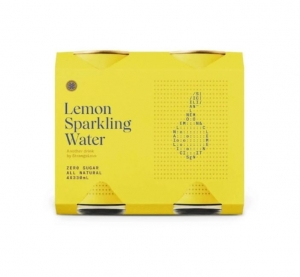 Strange Love - *NEW* Lemon Sparkling Water 330ml CANS 6 x 4pk (24) (Carton)