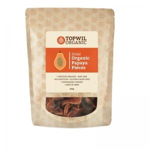 TopWil - Organic Dried Papaya Pieces