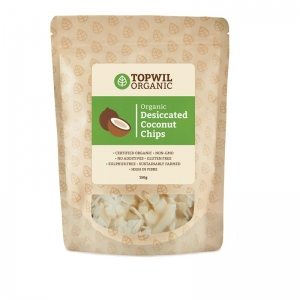 TopWil - Organic Desiccated Coconut Chips 150g x 6