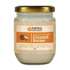TopWil - Organic Toasted Coconut Butter 200g x 6