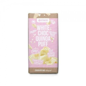 Vitawerx - White Choc Quinoa Puff Bar 100g x 12