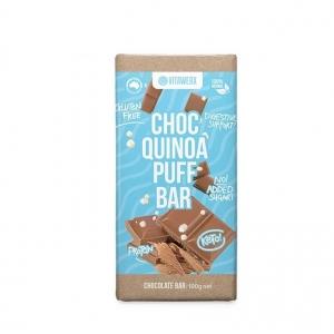 Vitawerx - Milk Choc Quinoa Puff Bar 100g x 12